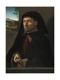 Portrait of a Gentleman, C.1505 Giclée-tryk af Ridolfo Ghirlandaio