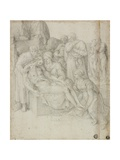 Lamentation, 1540-68 Giclee Print by Giorgio-giulio Clovio