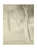 Trees (Study for La Grande Jatte), 1884 Giclee Print by Georges Seurat