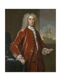 Richard Bill, 1733 Giclee Print by John Smibert