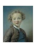 Portrait of Jean-Baptiste Antoine Le Moyne, 1747 Giclee Print by Jean-Baptiste Perronneau