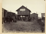 Provost Marshal's Office, Aquia Creek, February 1863 Photographic Print by Timothy O'Sullivan