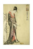 Hour of the Ox [2Am] (Ushi No Koku), C. 1794 Giclee Print by Kitagawa Utamaro