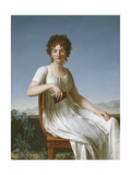 Portrait of Constance Pipelet, 1797 Giclee Print by Jean Baptiste Francois Desoria