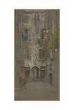 Corte Del Paradiso, 1880 Giclee Print by James Abbott McNeill Whistler
