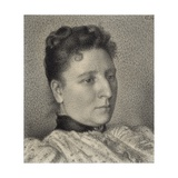 Portrait of Anna Boch, 1894 Giclee Print by Georges Lemmen