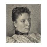 Portrait of Anna Boch, 1894 Lámina giclée por Georges Lemmen