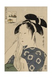 The Asahiya Widow, C. 1795-96 Giclee Print by Kitagawa Utamaro
