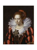 Portrait of a Young Lady, C.1620 Giclee Print by Paulus Moreelse