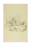 The Garden, 1891 Giclee Print by James Abbott McNeill Whistler