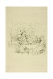 The Garden, 1891 Giclee Print by James Abbott McNeill Whistler