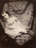 Margaret Frances Langton Clarke, 1864, Printed C.1866 Photographic Print by Lewis Carroll