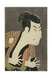 The Actor Otani Oniji III as Edobei, 1794 Giclee Print by  Toshusai Sharaku