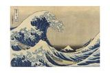 The Great Wave Off Kanagawa (Kanagawa Oki Nami Ura), C.1830-33 Giclee Print by Katsushika Hokusai