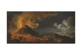 The Eruption of Vesuvius, 1771 Giclee Print by Pierre Jacques Volaire