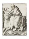 Saint Luke, C.1508 Giclee Print by Lucas van Leyden
