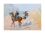 The Advance-Guard, or the Military Sacrifice (The Ambush), 1890 Giclee Print by Frederic Remington