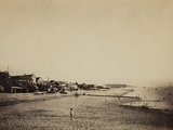 The Beach at Sainte-Adresse, 1856-57 Photographic Print by Gustave Le Gray