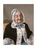 Portrait of Marthe Marie Tronchin, 1758-61 Giclee Print by Jean-Etienne Liotard