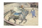 At the Circus: Work in the Ring, 1899 Lámina giclée por Henri de Toulouse-Lautrec