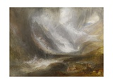 Valley of Aosta: Snowstorm, Avalanche, and Thunderstorm, 1836-37 Giclee Print by Joseph Mallord William Turner