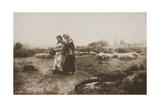 Carolling, 1887, Printed January 1890 Giclee Print by Henry Peach Robinson