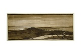 Panorama from the Sasso, 1649-1655 Giclee Print