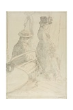 The Passing Funeral, 1912-13 Giclee Print by Walter Richard Sickert