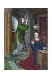 The Annunciation, 1490-95 Giclee Print by Jean Hey
