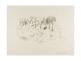 Hamadryads, 1919-20 Giclee Print by Arthur Bowen Davies