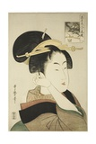 Tatsumi Roko, from the Series Renowned Beauties Likened to the Six Immortal Poets, C.1794-96 Giclee Print by Kitagawa Utamaro
