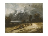 The Storm, 1814-30 Giclee Print by Georges Michel