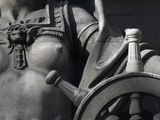 Statue Detail : Navigaton, by C.L.J. Doman,10 Trinity Square Photographic Print by Richard Bryant