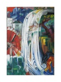 The Bewitched Mill, 1913 Giclee Print by Franz Marc