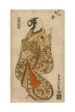 Courtesan Likened to the Chinese Sage Zhang Guolao (Japanese: Chokaro), C.1715 Giclee Print by Okumura Masanobu