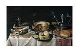 Still Life, 1625-30 Reproduction procédé giclée par Pieter Claesz