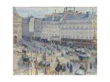 The Place Du Havre, Paris, 1893 Reproduction procédé giclée par Camille Pissarro