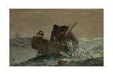 The Herring Net, 1885 Giclee Print by Winslow Homer