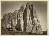 The South Side of Inscription Rock, 1873 Photographic Print by Timothy O'Sullivan