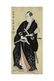 The Actor Sawamura Sojuro III as Nagoya Sanza Motoharu, 1794 Giclee Print by  Toshusai Sharaku