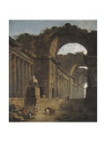 The Fountains, 1787-88 Reproduction procédé giclée par Hubert Robert