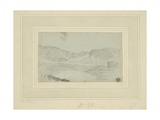 Hilly Landscape Giclee Print by Richard Wilson