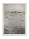 The Thames, 1896 Giclee Print by James Abbott McNeill Whistler