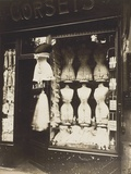 Boulevard De Strasbourg (Corsets), 1912 Photographic Print by Eugene Atget