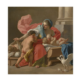Charity, 1743-44 Giclee Print by Francesco de Mura