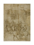 Mythological Pageant, 1528-29 Giclee Print by Girolamo Genga