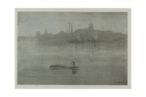 Nocturne, 1878, Published 1887 Giclee Print by James Abbott McNeill Whistler