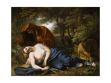 The Death of Procris, 1770, Retouched 1803 Giclee Print by Benjamin West