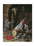 The Guardhouse, 1640-50 Giclee Print by David the Younger Teniers