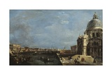 The Grand Canal, Venice, C.1760 Giclee Print by Francesco Guardi